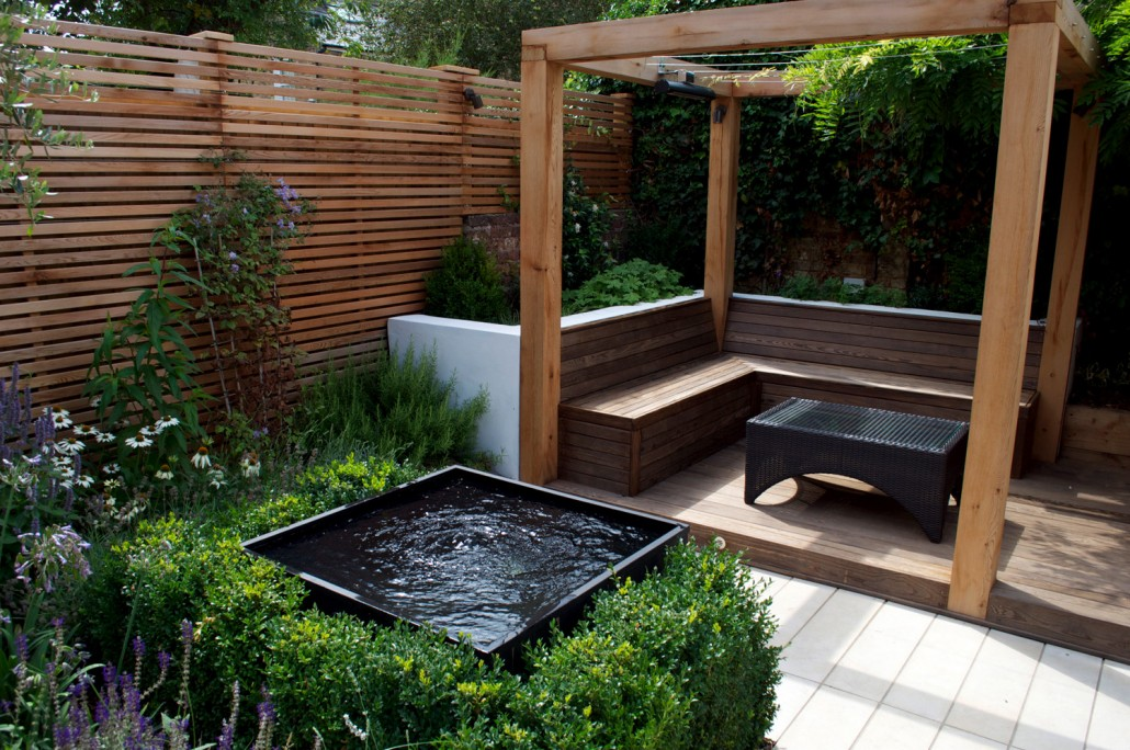 Award winning urban garden landscaping design build in kew for Award winning backyard designs