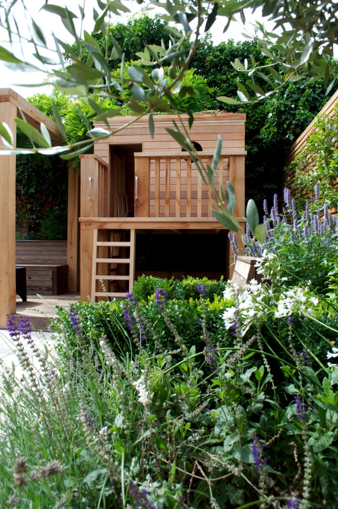 how to build an urban garden