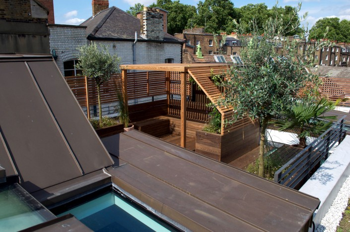 APL award winning Wakefield Roof Terrace Garden