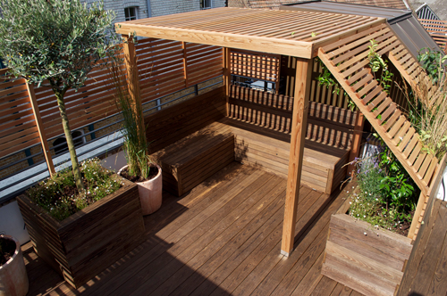 Roof terrace & balcony makeovers