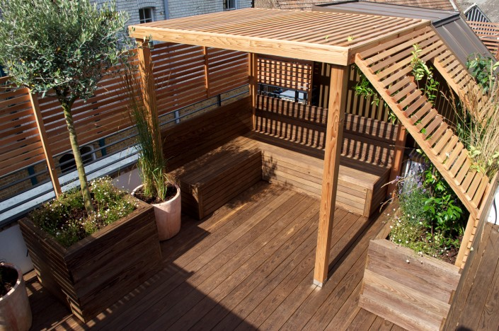 APL award winning Wakefield Roof Terrace Garden
