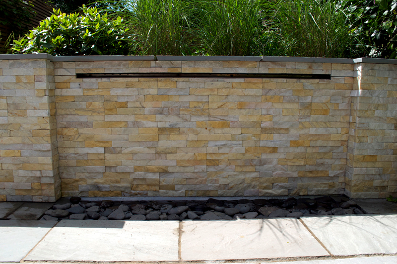 Waterwall feature - Hearne Road