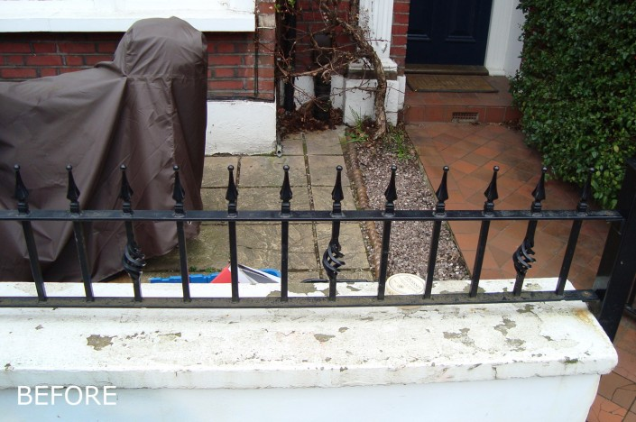 Priory Road Front Garden - before