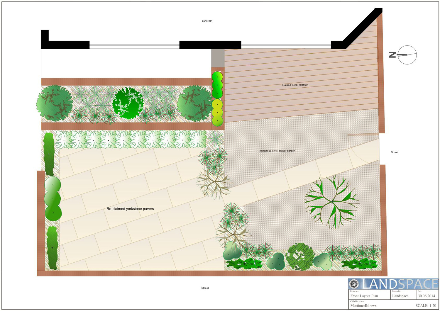 Mortimer Road Garden Design