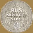 RHS silver gilt medal