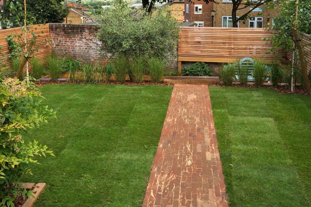 Landscaping for medium-sized gardens, designed and built ... on Medium Sized Backyard Ideas id=46928