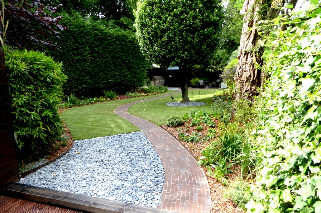 Landscaping for medium-sized gardens, designed and built ... on Medium Sized Backyard Ideas id=65690